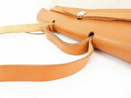 Auth HERMES Her Bag 2 in 1 Beige Canvas and Leather Hand Shoulder Bag #26110 image 7
