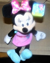 """NWT Disney Minnie Mouse Spring Plush 8"""" from Just Play 2015 - $7.80"""