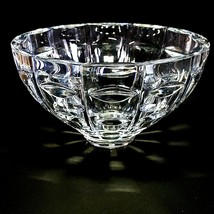 1 (One) Cristal D'arques Facets Large Heavy Crystal Bowl Made In France-DISCONT - $49.49
