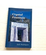 Crystal Fountain Paperback Book Jack Madahgian Signed Inscribed - $11.13