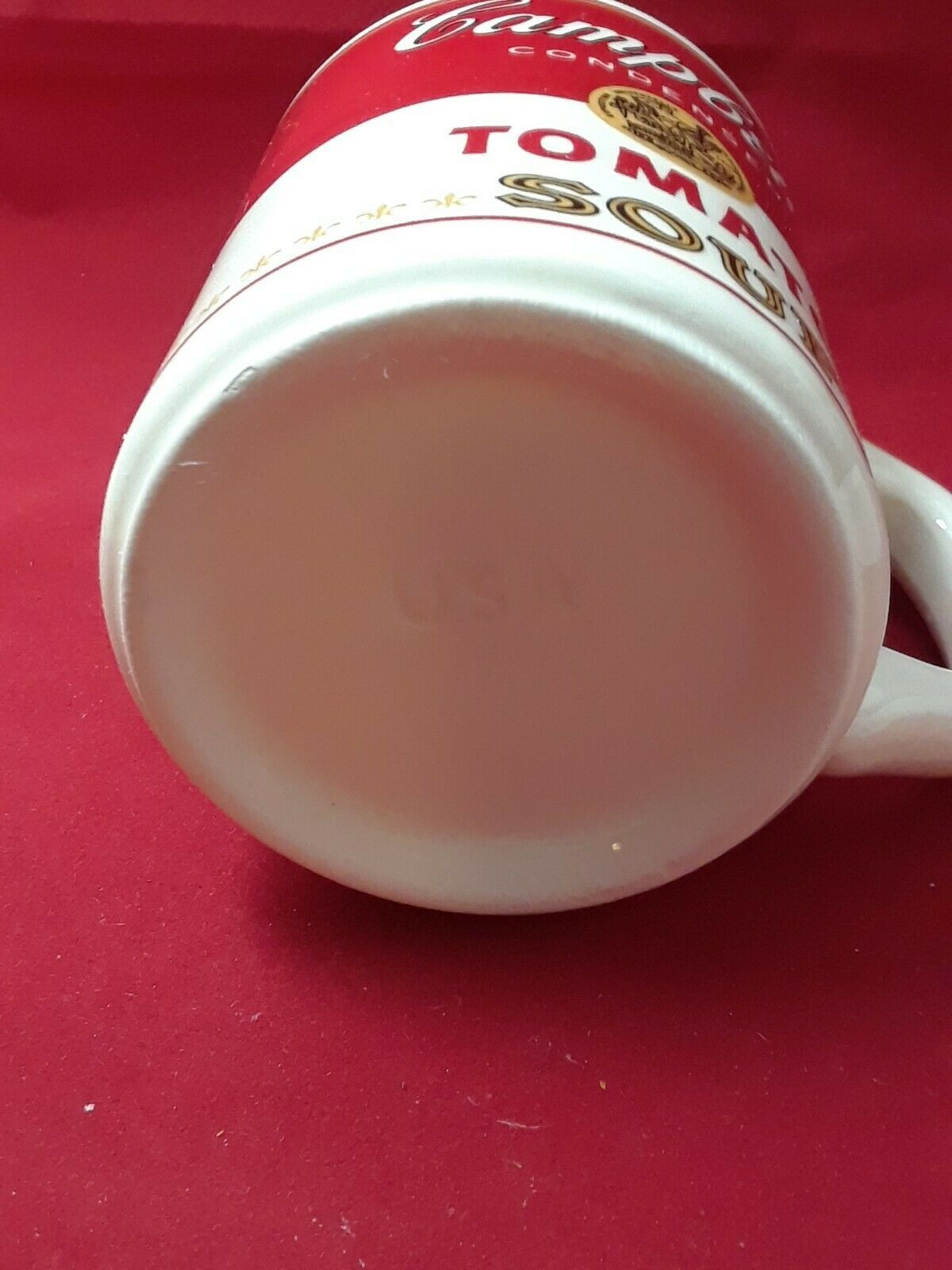 Collectible Campbell's Tomato Soup Mug Cup 8 oz in The Original Styrofoam Mailer image 10
