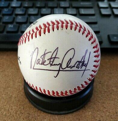 "Nate ""Tiny"" Archibald Signed Rawlings Little League Baseball NBA"