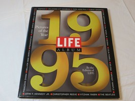 Life Album Pictures of the Year 1995 life Books Hardcover x - $15.99