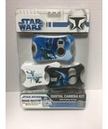 Star Wars 3 in 1 Digital Camera Kit Image Master Face Plates NEW - $14.84