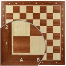 Professional Tournament Chess Board No. 5 - SMALL CORNER DAMAGE LOWER PRICE - $54.95