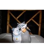 Meeko raccoon and  Percy Pug dog Bank from Disney movie Pocahonta - $19.99