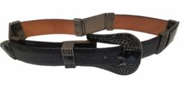 Lot of 3 Wild West Boots Women Rhinestone Belt Sz 28 Genuine Ostrich Leather image 2