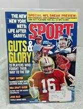 Sport Magazine July 1991 Joe Montana Lenny Dykstra Jumbo Elliott Bernard... - $6.79