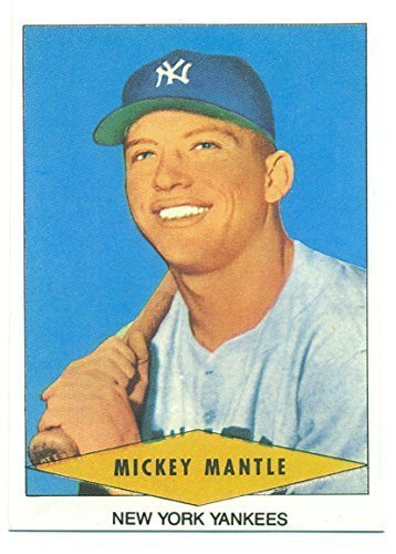 1954 Red Heart Mickey Mantle Reprint - New York Yankees - Baseball Card