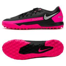 Nike Phantom GT Academy TF Football Shoes Soccer Cleats Black CK8470-006 - $92.99