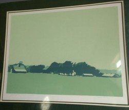 Artists Proof Quiet Farm signed by the Artist Matonis in pencil. image 1