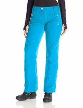 Spyder Womens Thrill Athletic Fit Ski Snowboard Pants, Size 4 Inseam Reg... - $75.24