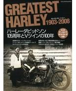 Greatest HARLEY 1903-2008 HARLEY-DAVIDSON 105th anniversary Book 4861441137 - $53.90