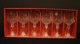 Cristal D'arques  Longchamp Crystal Cordial Glasses  Set of 6 In Origina... - $19.90