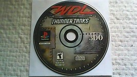 World Destruction League: Thunder Tanks (Sony PlayStation 1, 2000) - $5.95