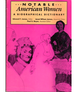 Notable American Women 1607 - 1950 ( A Biographical Diction) 3 Volumes - $24.95