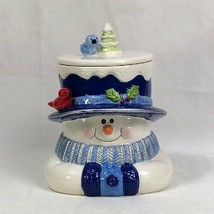 Snowman Ceramic Cookie Jar - Houston Harvest - $9.79