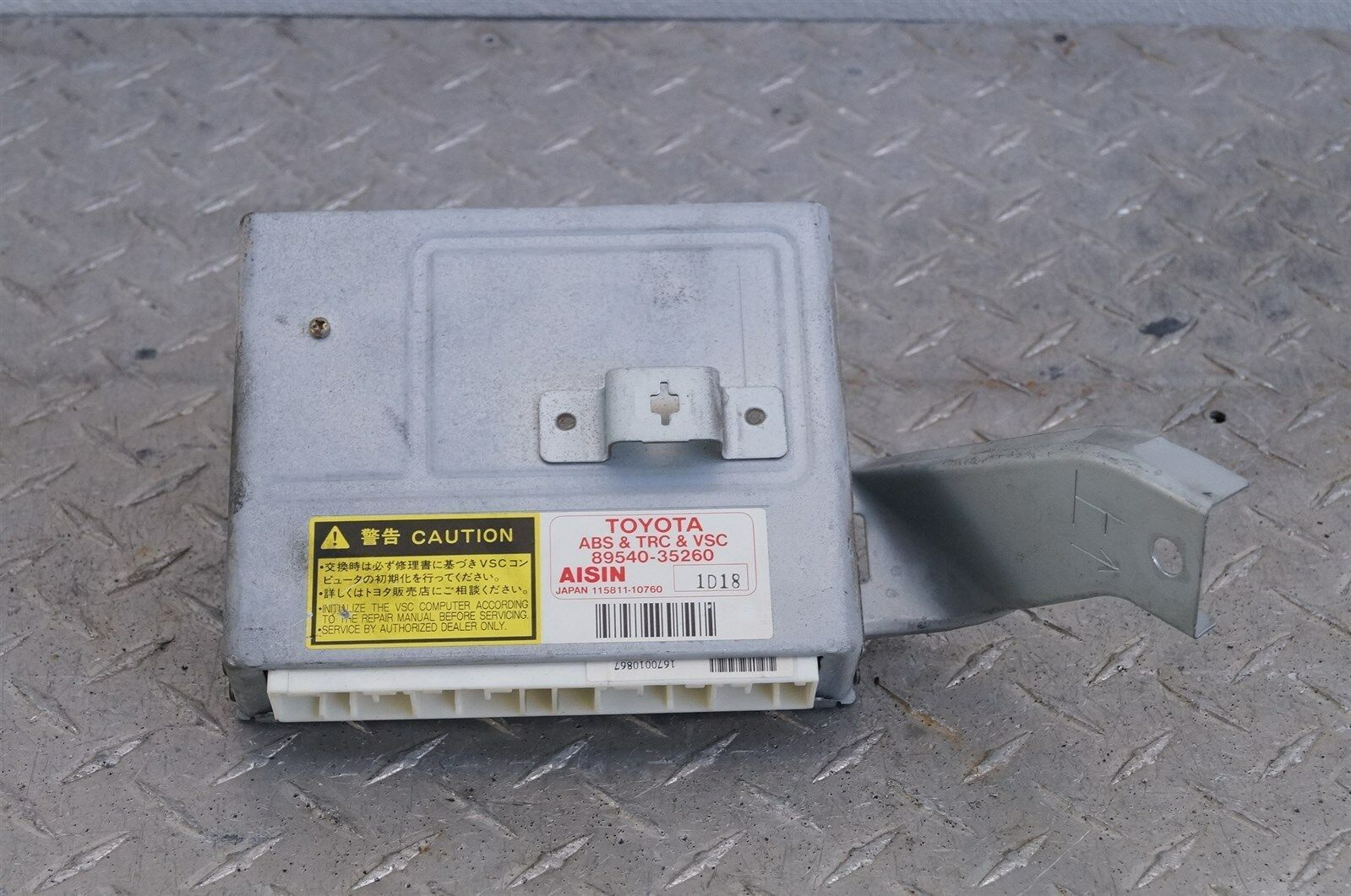 2001 2002 Toyota 4Runner ABS TRC VSC Control Module Computer 89540-35260