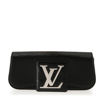 Pre-Loved Louis Vuitton Black Epi Leather Electric Sobe Clutch Italy - $791.41