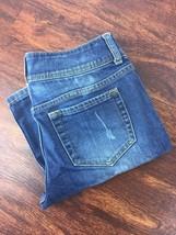 LONDON JEANS Boot Cut Mid Rise Acid Wash Blue Denim Jeans Pants Women's ... - $26.13