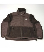 The North Face brown womens fleece jacket Small - $25.24