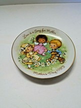 Avon Mini Mothers Day Plate 1983 Love Is A Song - $4.95