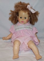 "Horsman Doll Vtg 1967 Baby 18"" Sleep Eyes Toy - $19.21"