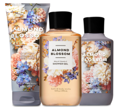 Bath & Body Works Almond Blossom Trinity Gift Set - £29.60 GBP