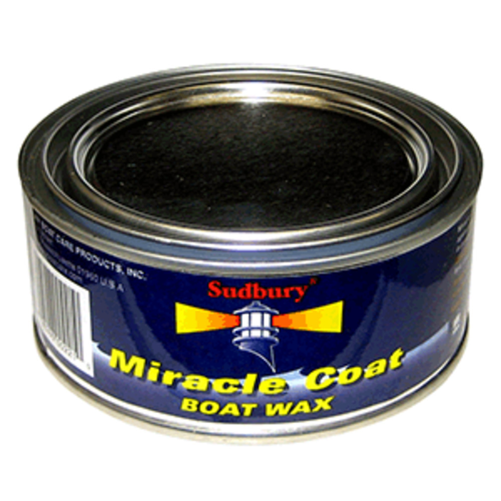 Primary image for Sudbury Miracle Coat Boat Wax - 11oz Paste
