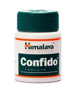 Himalaya Herbal Confido  60 Tablet |Free Shipping Worldwide - $7.21+