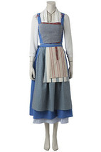 2017 Beauty And The Beast Princess Belle maid Costume belle dress All Size - $129.00