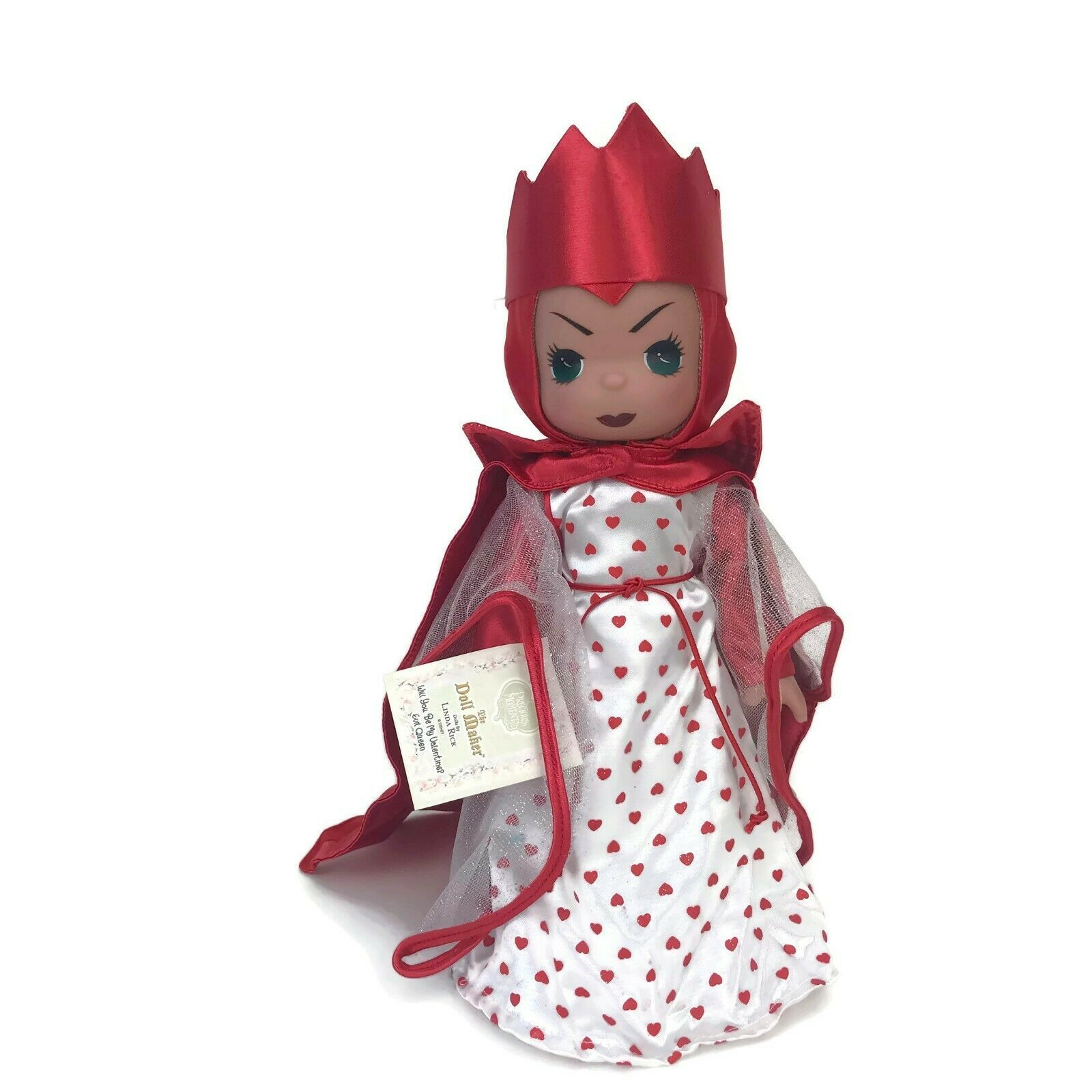"""Precious Moments Disney Parks Exclusive Evil Queen Be My Valentine 12"""" Doll - $37.36"""