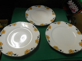 Great HOMER LAUGHLIN USA K5N5   Set of 3 DINNER Plates - $21.37