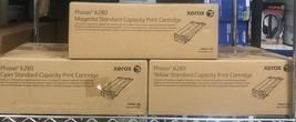 Genuine OEM Xerox Phaser 6280 Standard Cap - Cyan/Magenta/Yellow Toner Set - $147.51
