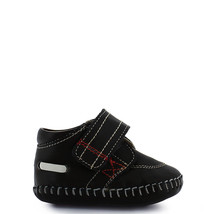 Boy's brown Rilo Infant baby crib shoe - $38.98