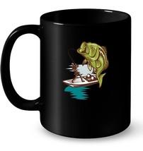 Fishing Ceramic Mug Large Mouth Bass Fishing Ceramic Mug - $13.99+