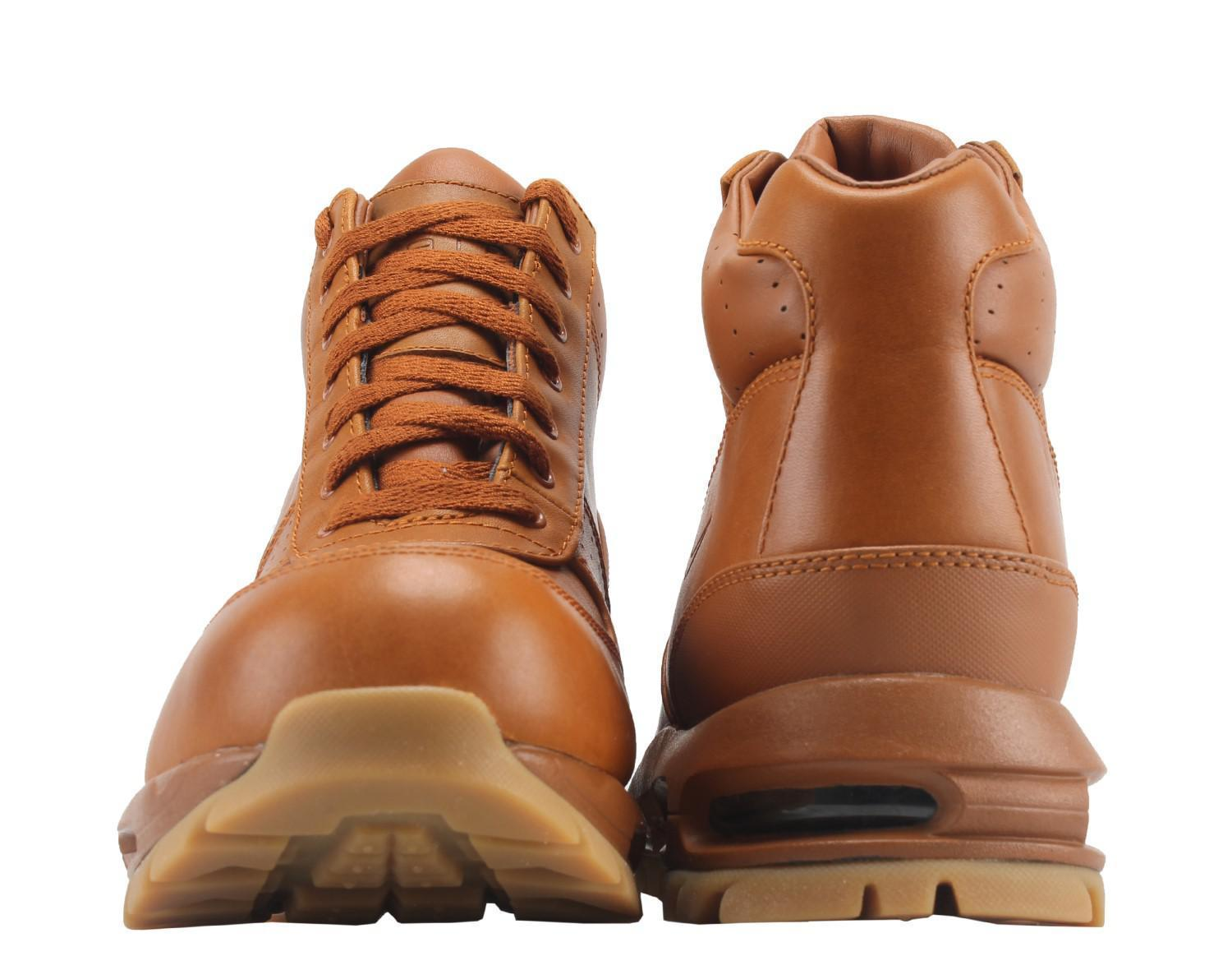 huge selection of f55ce f5c46 Nike Air Max Goadome Boots Tawny Gum Light Brown ACG 865031 208 Mens Size  7.5