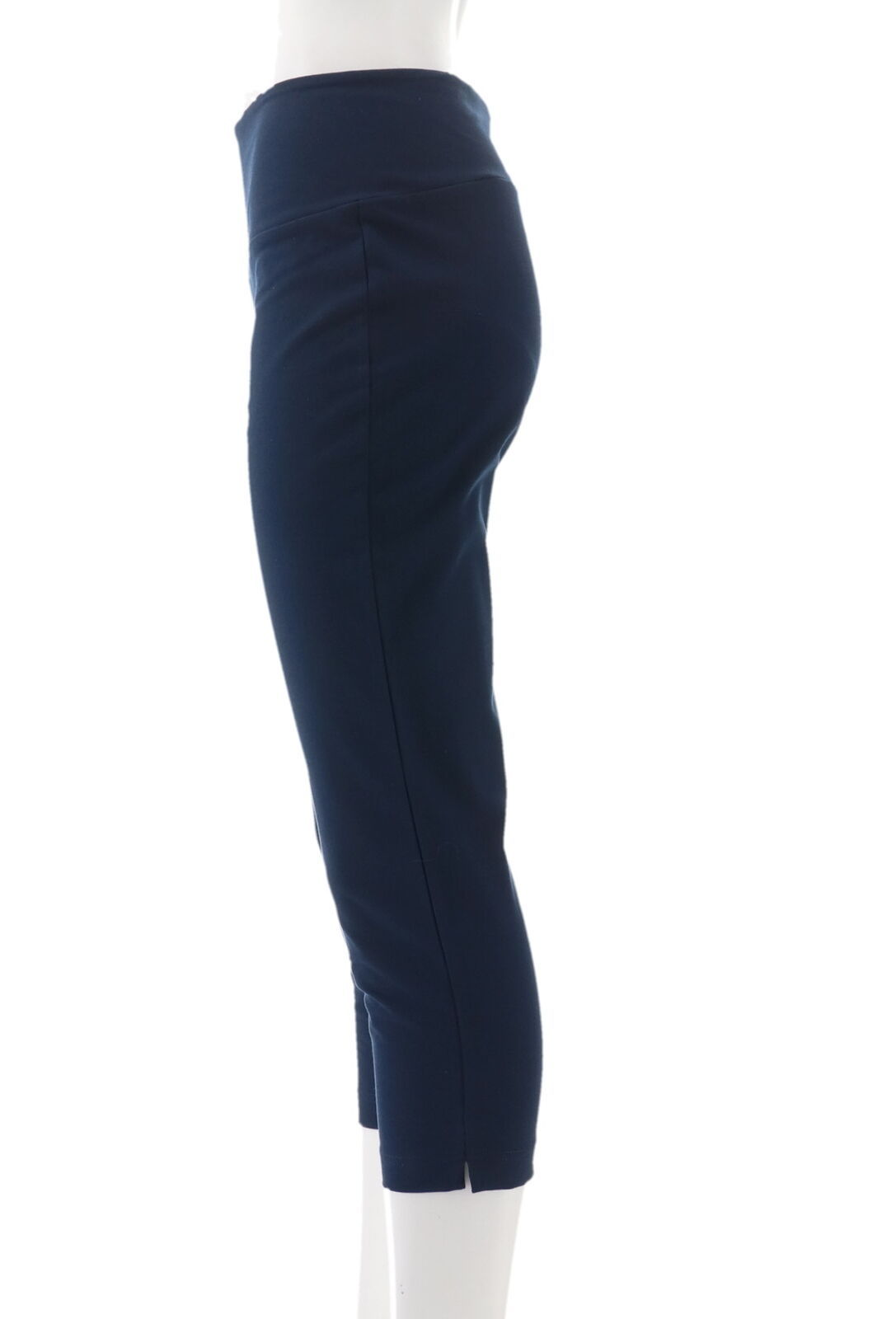 Women with Control Petite Tummy Control Set 2 Pants Captain Navy P1X NEW A344735