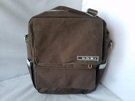 Jujube Ju Ju Be Diaper Bag Baby Travel Carry Backpack Brown Stain Treate... - $20.12