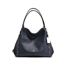 Coach Edie Tote Purse with Floral Rivets - #F37700 - $262.64