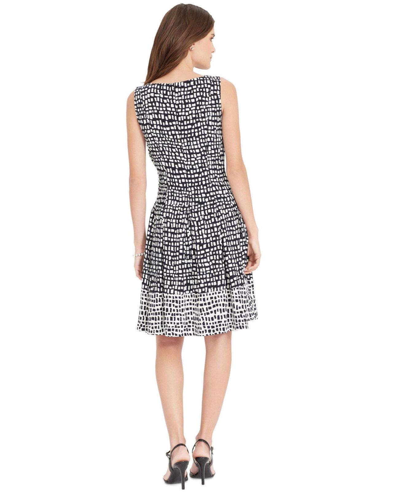 Lauren Ralph Lauren Women's Sz 12 Black Dress 2908-3