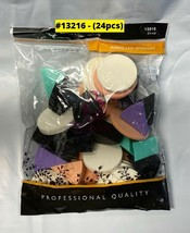 BLOSSOM COSMETIC WEDGES #13216 ASSORTED PACK (24 PCS)  - $2.47