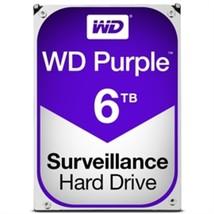 Western Digital Hard Drive WD60PURZ WD Purple AV 3.5 6TB 64MB SATA 6Gb/s... - $300.33