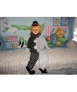 OOAK Handmade Vintage CANADA Artist Rubber Clow... - $56.95