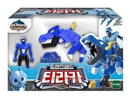 Miniforce Trans Head Tyraka Super Dinosaur Power Tyrannosaurus Action FIgure Toy