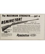 1954 Print Ad Remington Model 721 Bolt Action Big Game Rifles Bridgeport,CT - $9.28