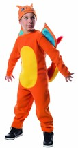Rubies Pokemon Charizard Jumpsuit Boys Kids Pikachu Ash Halloween Costum... - $29.18