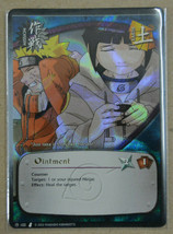 Naruto Ccg Tcg Ointment Foil Card #102 From 2002 Near Mint Never Played - $4.95