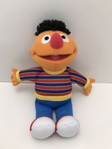 "Sesame Street Ernie Plush Doll 10"" 2013 Stuffed Animal Plush Hasbro Play... - $7.92"