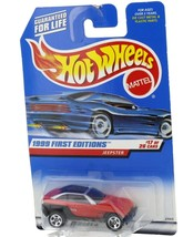 1999 Hot Wheels First Editions Red Jeepster Jeep